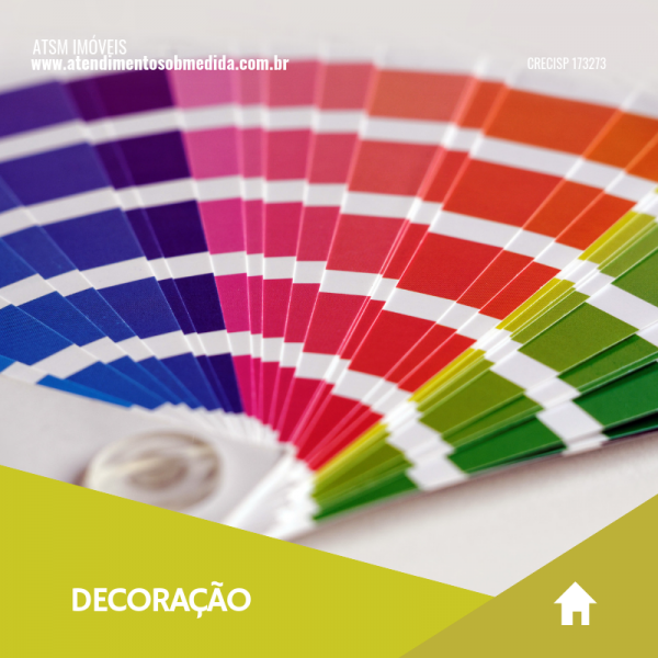 Significado das cores: encontre a ideal para o seu ambiente
